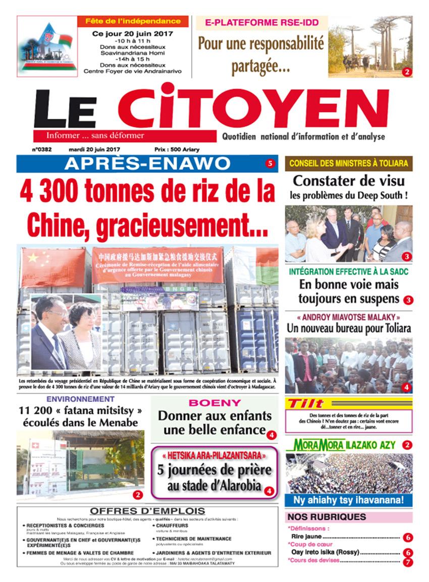 citoyen 20 Juin