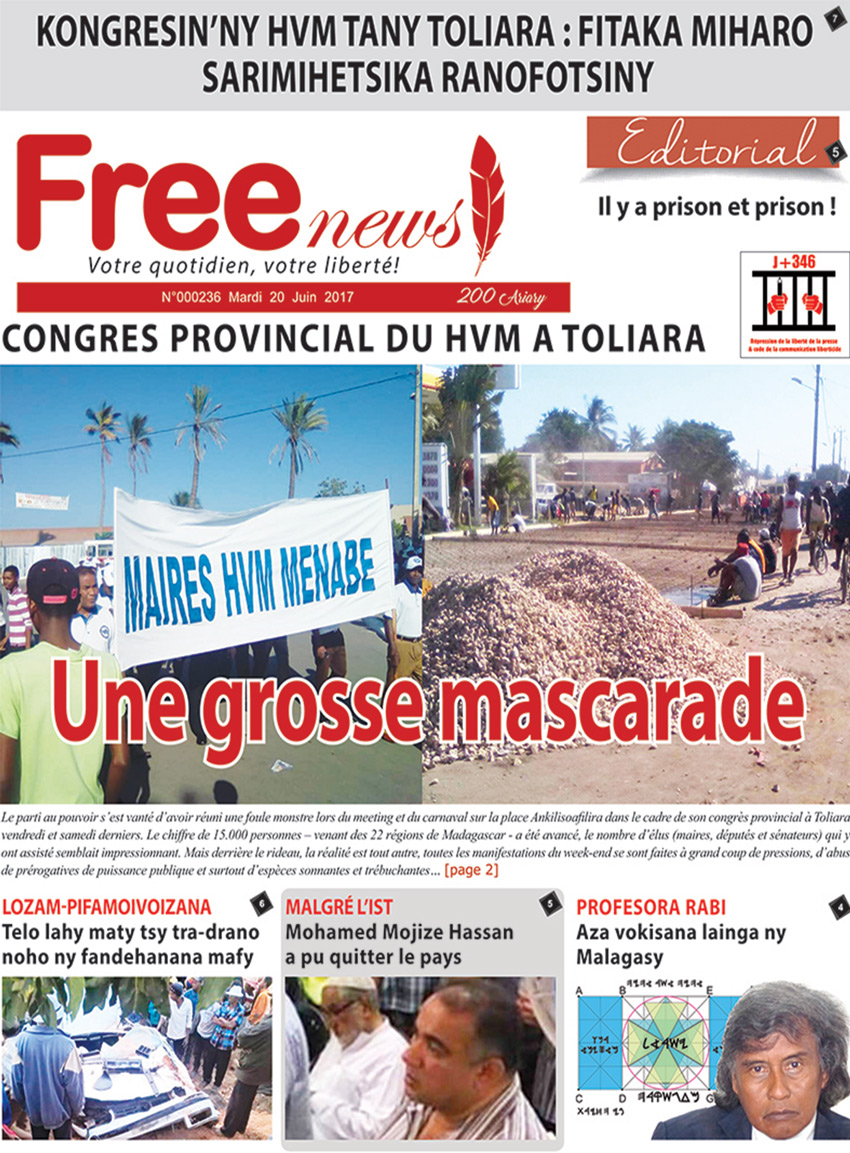 freenews 20 Juin